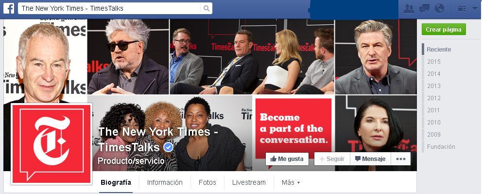 Grandes medios acuerdan con Facebook para postar artículos en la red social