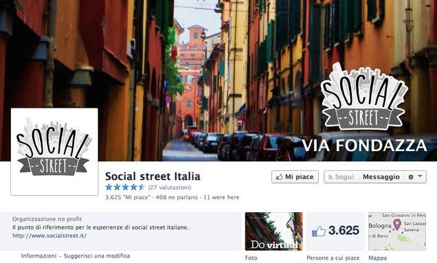 Social Street Italia: el proyecto de una construcción comunitaria