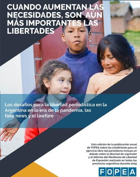 ADEPA y FOPEA presentan sus informes anuales 2020