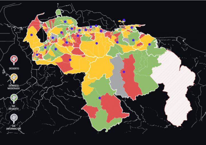 """El """"desierto informativo"""" en Venezuela"""