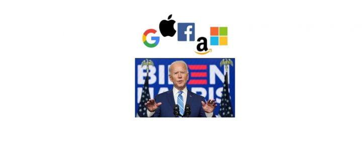 ¿Qué hará Biden con las grandes tecnológicas en el 2021?