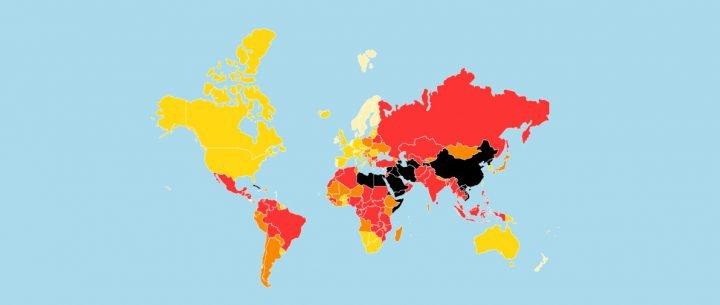 Informe RSF 2021: la Argentina es el país que más retrocedió para el periodismo en América del Sur